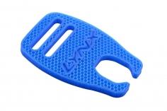 Lynx Rotorblattauflage Ninja Flex in blau für den Goblin 630 700 770