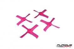 Furious FPV FleekProp Propeller 1936-4 in pink 4 Stück je 2x cw und ccw