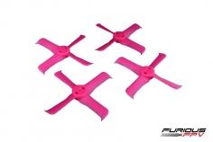 Furious FPV FleekProp Propeller 2036-4 in pink 4 Stück je 2x cw und ccw