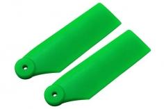 Rakonheli Heckrotorblätter 34mm in grün für Blade 180 CFX und Blade Trio 180 CFX