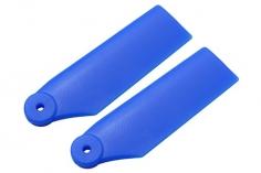 Rakonheli Heckrotorblätter 34mm in blau für Blade 180 CFX und Blade Trio 180 CFX