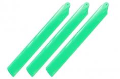 Rakonheli Hauptrotorblätter 155mm 3 Blatt Satz in grün für Blade Trio 180 CFX