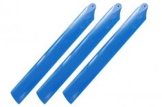 Rakonheli Hauptrotorblätter 155mm 3 Blatt Satz in blau für Blade Trio 180 CFX