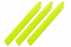 Rakonheli Hauptrotorblätter 155mm 3 Blatt Satz in gelb für Blade Trio 180 CFX