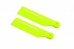 OXY Ersatzteil Heckrotorblätter in gelb 41mm für OXY2