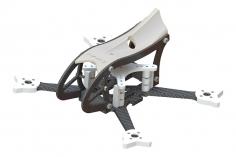 Lynx MAKO 2 FPV Racer Rahmen Set in weiß / transparent für Blade Torrent 110 FPV