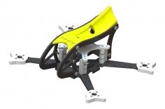 Lynx MAKO 2 FPV Racer Rahmen Set in gelb für Blade Torrent 110 FPV