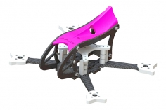 Lynx MAKO 2 FPV Racer Rahmen Set in pink für Blade Torrent 110 FPV