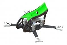 Lynx MAKO 2 FPV Racer Rahmen Set in grün für Blade Torrent 110 FPV