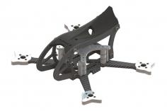 Lynx MAKO 2 FPV Racer Rahmen Set in schwarz für Blade Torrent 110 FPV