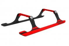 Rakonheli Landegestell Carbon in rot für Blade 180 CFX und 180 CFX Trio