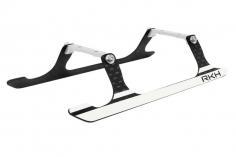 Rakonheli Landegestell Carbon in silber für Blade 150 S, 180 CFX und 180 CFX Trio