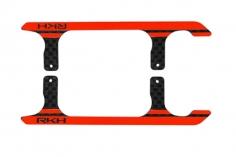 Rakonheli Landegestell Ersatzkufen in rot für Blade 150 S, 180 CFX und 180 CFX Trio