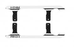 Rakonheli Landegestell Ersatzkufen in silber für Blade 150 S, 180 CFX und 180 CFX Trio
