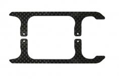 Rakonheli Landegestell Ersatzkufen in carbon schwarz für Blade 150 S, 180 CFX und 180 CFX Trio