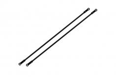 Rakonheli Heckstreben Carbon / Alu in schwarz für Blade 180 CFX und 180 CFX Trio