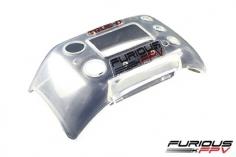 Furious FPV True-D Ersatz Abdeckung V3 und V3.5 transparent für FatShark Attitude V3 und V4
