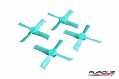 Furious FPV Rage Propeller 2036-4 in türkis 4 Stück je 2x cw und ccw