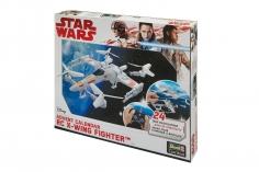 Revell RC Adventskalender Star Wars X-Wing-Fighter 2,4GHz zum selber bauen Tag für Tag ein Stück näher zum fliegenden Modell