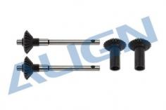 Align Hinteres Heckrotorgetriebe für Starrantrieb für T-REX 470LT