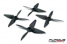 Furious FPV Race Edition Propeller 3054-4 in matt schwarz 4 Stück je 2x cw und ccw