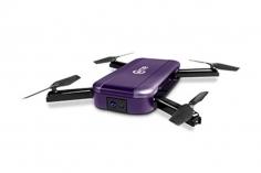 C-me Mini Selfie Drohne in violet
