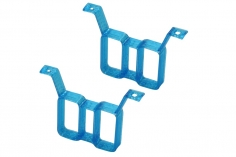 Rakonheli Akku Halterung hochkant für 2 Akkus in blau für Rakonheli Brushless Whoop FPV Rahmen