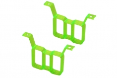 Rakonheli Akku Halterung hochkant für 2 Akkus in grün für Rakonheli Brushless Whoop FPV Rahmen