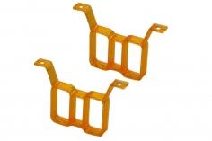Rakonheli Akku Halterung hochkant für 2 Akkus in orange für Rakonheli Brushless Whoop FPV Rahmen