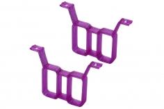 Rakonheli Akku Halterung hochkant für 2 Akkus in violet für Rakonheli Brushless Whoop FPV Rahmen