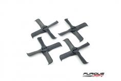Furious FPV FleekProp Propeller 2036-4 in schwarz 4 Stück je 2x cw und ccw