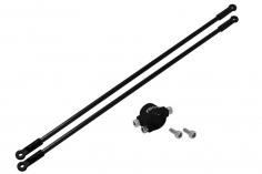 Rakonheli Heckstreben Carbon/Alu in schwarz für Blade 130 S nur in Verbindung mit Rakonheli Hauptrahmen 130S452