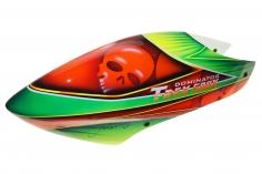 Fusuno Skoul Airbrush fiberglas Haube für T-REX 500X