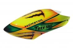 Fusuno Monster Airbrush fiberglas Haube für T-REX 500X