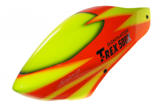 Fusuno Red Snake Airbrush fiberglas Haube für T-REX 500X