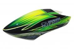 Fusuno Samrock Airbrush fiberglas Haube für T-REX 500X