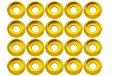 Rakonheli finishing caps in gelb 20 Stück