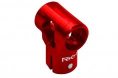 Rakonheli DFC Hauptrotorkopf in rot CNC Aluminium für Blade mCP S