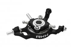 Rakonheli Taumelscheibe in schwarz CNC ALunminium für Blade mCP S