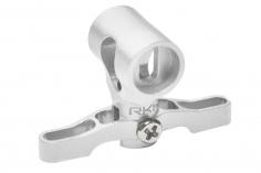 Rakonheli Hauptrotorkopf in silber CNC Aluminium für Blade mCP S