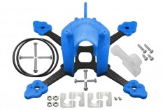Rakonheli Tuning Rahmen aus carbon in blau für Blade Torrent 110 FPV