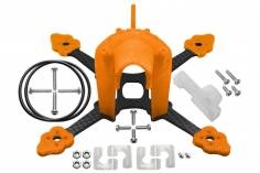 Rakonheli Tuning Rahmen aus carbon in orange für Blade Torrent 110 FPV
