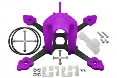 Rakonheli Tuning Rahmen aus carbon in violet für Blade Torrent 110 FPV
