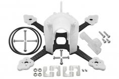 Rakonheli Tuning Rahmen aus carbon in weiß für Blade Torrent 110 FPV