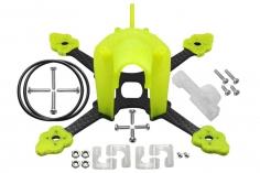 Rakonheli Tuning Rahmen aus carbon in gelb für Blade Torrent 110 FPV