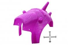 Rakonheli Haube für Tuning Rahmen aus carbon in violet für Blade Torrent 110 FPV
