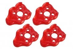 Rakonheli Motordämpfer für Tuning Rahmen aus carbon in rot für Blade Torrent 110 FPV