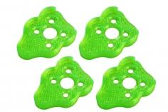 Rakonheli Motordämpfer für Tuning Rahmen aus carbon in grün für Blade Torrent 110 FPV