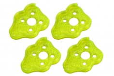 Rakonheli Motordämpfer für Tuning Rahmen aus carbon in gelb für Blade Torrent 110 FPV
