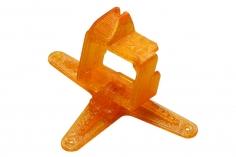 Rakonheli Kamerahalterung mit 20° Neigungswinkel in orange für Blade Inductrix FPV +